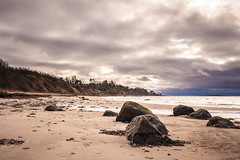 Kulhuse Coastline (tainkeh) Tags: 2018 rock zealand landscape winter hornsherred nature water denmark outdoor weather fjord cloudporn beach stone strand cloud overcast storm nordsjælland 365 kulhuse europe january visitnordsjaelland 365project visitdenmark landskab project365