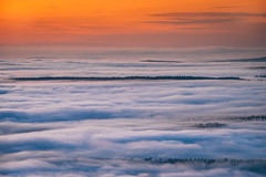 Sunset. (Robert Hájek) Tags: sun sunset sky sonya7 sony canon 70200 czphoto czech cloud landscape nature krusnehory