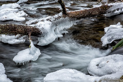 Water and Ice (John C. House) Tags: everydaymiracles nik nikon greatsmokymountains nationalpark water mountains tennessee smokies longexposure d810 johnchouse ice