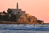 Bathing at sunset - old Jaffa - Follow me on Instagram:  @lior_leibler22 (Lior. L) Tags: bathingatsunsetoldjaffa bathing sunset oldjaffa telavivbeach israel sea seascapes travel