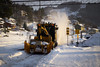 Clearing the way (Fredrik Blikeng) Tags: train snow tog nsb norway drangedal sørlandsbanen oslo kristiansand stuck delay travel musician road freelancing norge panasonic lumix dmcg5 canon fd 50mm f18 nordagutu