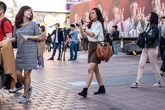 Going For The Cover Shot (burnt dirt) Tags: asian japan tokyo shibuya station streetphotography documentary candid portrait fujifilm xt1 laugh smile cute sexy latina young girl woman japanese korean thai dress skirt shorts jeans jacket leather pants boots heels stilettos bra stockings tights yogapants leggings couple lovers friends longhair shorthair ponytail cellphone glasses sunglasses blonde brunette redhead tattoo model train bus busstation metro city town downtown sidewalk pretty beautiful selfie fashion pregnant sweater people person costume cosplay brown white camera photographer black