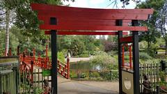 Japanese landscaping Beale Park (Daves Portfolio) Tags: bealepark berkshire wildlifepark 2017 japanese landscaping garden bridge