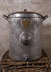 Pot (L*Ali) Tags: oronoantiquemarket ontario nikon d500 sigma1770mmf28macro antique pot wicker