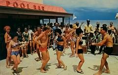 The Castaways, circa 1960s - Miami Beach, Florida (Shook Photos) Tags: postcard postcards chrome chromepostcard groovy dance dancing dancers bikini swimsuit babe babes honey miamibeachflorida miamibeach florida miamidadecounty