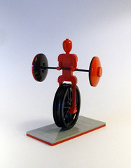 Acrobatics in red and black (Galerie d'Antha) Tags: acrobatics lego red black 88517 moc circus equilibrist