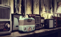 Radio Collection (Terry.Fotherington ✞) Tags: radio vintage collection