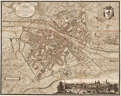 Planta della citta de Firenze (1818) (Pau NG) Tags: art maps engravings firenze florence 1818