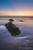 Day's End at Kehoe Beach (Marsha Kirschbaum) Tags: sonyarii landscape ©marshakirschbaum pointreyesnationalseashore reflections pacifccoast exposed kehoebeach rocks
