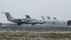IMG_8533 (Al Henderson) Tags: 5afla airport aviation avro bae146 bedfordshire cranfield egtc gceha gcfae gofoa oodwd planes rj snow stored winter