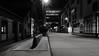 Rheinauhafen (frankdorgathen) Tags: path pavement business harbor rheinauhafen köln cologne rheinland evening dark light electricity blackandwhite monochrome longtimeexposure dull empty