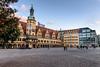 Altes Rathaus, Leipzig (Milad DG) Tags: markt leipzig germany saxony sachsendeutschland altesrathaus rathaus cityhall oldcityhall christmas christmastree tannenbaum sunset sunsetlight