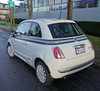 2013 Fiat 500 Gucchi (D70) Tags: 2013 fiat 500 gucchi sony dscrx100m5 ƒ40 88mm 1200 125 gucci paint nero bianco signature bodyside stripe power sunroof hatchback only badges chrome door handles mirror covers hood spear unique 15inch aluminum wheels green brake calipers soft top cabrio