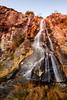 En caída libre (Fran Nieto) Tags: capela acoruña españa water waterfall cascada rojo puesta puestadesol sunset