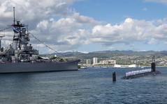 180126-N-LY160-0248 (U.S. Pacific Fleet) Tags: comsubpac ussmissourissn780 pearlharbor submarine battleshipmissouri homecoming hawaii unitedstates us