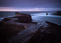 St. Monans (.willwalker) Tags: stmonans scotland fife harbour blocks sea water longexposure neutraldensity 10stopfilter nd