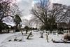 Ramsgate Cemetery - Graveyard & Chapels 8 (Le Monde1) Tags: ramsgate kent england ramsgatecemetery county graves tombs tombstones headstones lemonde1 nikon d800e dumptonpark snow graveyard twin chapels georgegilbertscott anglican nonconformist
