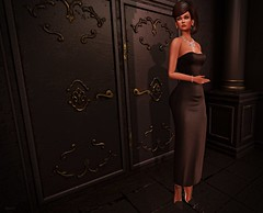 A Date (kare Karas) Tags: woman lady femme girl girly sweet cute beauty pretty beautiful elegant gown jewelry heels outfit nailpolish virtual secondlife avatar fun game date march night outdoors event hair mesh bento anastyle cazami moondanceboutique designershowcaseevent rezology