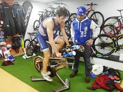 David Huertas triatlón Indoor team clavería triatlón World 4