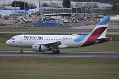 OE-LYZ Airbus A319 BHX 29Nov2017 (Citation Ten) Tags: oelyz a319 ewe bhx