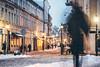 Winter | Kaunas old town, Lithuania #18/365 (A. Aleksandravičius) Tags: winter kaunas old town lithuania night senamiestis evening street people motion blurred žiema 2018 nikon nikond750 d750 135mm 135mmf2d nikon135f2 nikon135mmf2dc 135 nikon135mm nikonafdcnikkor135mmf2d nikkor135 nikkor 365days 3652018 nikkor135mm 365 project365 18365