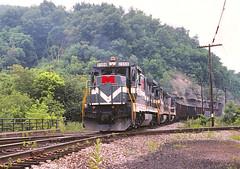 MGA  2308                       9-91 (C E Turley) Tags: railway super7 monongahela b237r