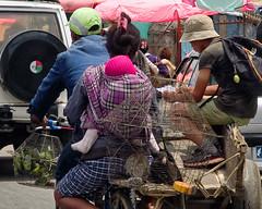 Traffic (LeftCoastKenny) Tags: madagascar day16 antananarivo people bicycle cart cars birds cages