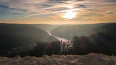 The Donau River Canyon (redfurwolf) Tags: bavaria germany kelheim donau river canyon sunset landscape nature outdoor outdoors mountains forest sky clouds liberationhall befreihungshalle redfurwolf sony rx100m4 sonydeutschland sunrays lensflare