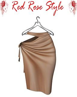 [RRS] Katia Skirt Cream (Maitreya,Belleza,Slink),tonic)