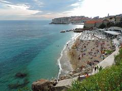 Banje Beach, Dubrovnik, Croatia (Our Wanders) Tags: croatia dubrovnik dalmatia