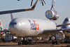 N579FE MD-11F Fedex Victorville Jan 2018 (ColinParker777) Tags: n579fe fedex federal express mcdonnell douglas boeing md11 md11f cargo freighter airline airlines airways airliner plane airplane aviation flying flight aeroplane stored storage retired derelict retirement retire old victorville souther california logistics airport socal kvcv vcv desert trijet tri holer wrapped protect protection canon 100400 l lens zoom telephoto 7d 7dmkii 7dmk2 7dii 7d2