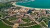 Abu Dhabi, United Arab Emirates: Emirates Palace Hotel viewed from Observation Deck 300 (nabobswims) Tags: ae abudhabi emiratespalace hdr highdynamicrange hotel ilce6000 lightroom nabob nabobswims observationdeck300 photomatix sel18105g sonya6000 uae unitedarabemirates
