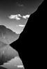 Aurlandsfjorden, Norway: Hard Lines No.2 (rocinante11) Tags: norway aurlandsfjorden monochrome blackwhite bw blackandwhite film filmcamera