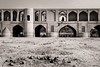 Si-o-se-Pol Without Water (Tom Levold (www.levold.de/photosphere)) Tags: fuji fujixpro2 isfahan iran xf18135mm esfahan sw bw architektur architecture building brücke bridge siosepol flussbett riverbed driedout
