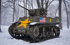 M-5 Stuart (FindingBrightside) Tags: tank armor history museum cantigny m5 stuart winter