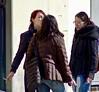 Tre (tonyhudson12526) Tags: street smoking women candid italy redhead jeans