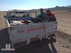 GPR survey at Sinai investigating for underground water (InterScient) Tags: interscienttechnology egypt geophysics geophysicalsurvey gpr antenna sinai undergroundwater