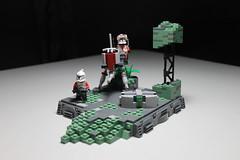 Mission 13.1 ([C]oolcustomguy) Tags: lego star wars starwars clone brickarms brick arms citizenbrick citizen clones scar mission 131