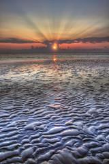 Someone's dream... (Robyn Hooz) Tags: alba sole portocaleri lowtide bassamarea sabbia sand raggi hope speranza sun sunrise beauty dream veneto