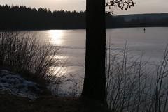 """On the dam of """"Prince's pond"""" (Karel Suchánek) Tags: winter pond frozen frost ice sunshine afternoon velkáhleďsebe lumix lx100 knížecírybník knížák"""