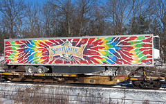 Don't Float the Mainstream (Erie Limited) Tags: piscatawaynj ns norfolksouthern 21m trailer sweetwaterbrewing marten train railfan railroad