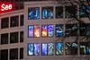 see (nika.vero) Tags: windows reflection dom hamburg see night urban city