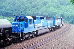CR 6660 at Altoona, PA (dl109) Tags: conrail sd452