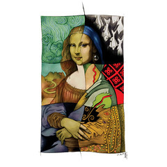 Daily #Art - Day 01-15-18 (hinxlinx) Tags: mona lisa klimt escher vermeer vangogh pen marker davinci picasso pablo illustration