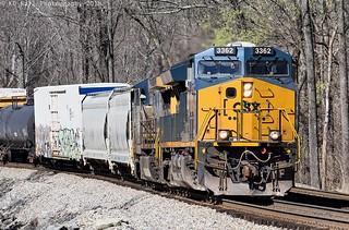 CSX Q513-03 at Wildwood, GA