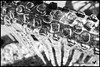 Icicle Bicycle CU (bayoudragonfly) Tags: ice icicles bike tire bicycle winter cold frozen bw