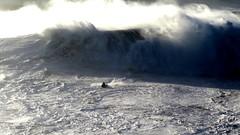 Exploring the wave (walterpeitz) Tags: nazare surfing surf monster waves huge big xxl wct sea water beach ocean atlantic wave sand