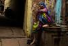 Varanasi. Uttar Pradesh. India. (Tito Dalmau) Tags: portrait street woman varanasi uttarpradesh india