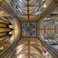 Looking up to the Heavens. (iancook95) Tags: lincoln cathedral