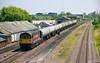 58037 West Drayton (NB Railways) Tags: 58037 class58 gwml westdrayton westernregion ews oiltrain thameshaventanks